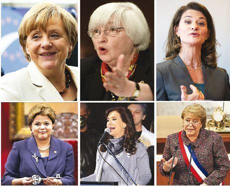 mujeres presidente
