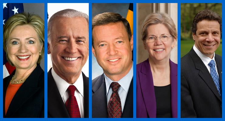 Prospectos Demócratas a la Presidencia de los EE.UU.