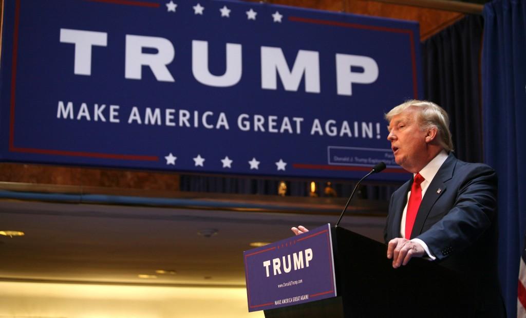 Donald Trump se suma a la carrera presidencial de los Estados Unidos