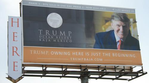 El fallido Trump Baja Resort en Baja California