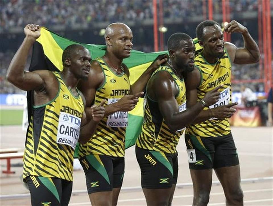Equipo de relevos de Jamaica