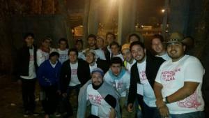Voluntarios a la organización de la Universidad Panamericana. Cortesía.