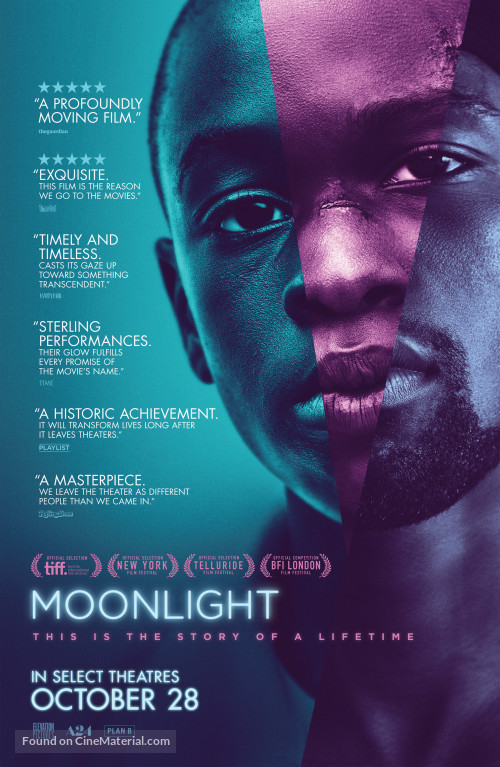 Moonlight (2016) Póster