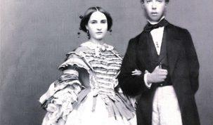 Maximiliano y Carlota, la última nobleza que hubo en México.