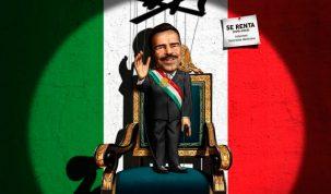 Póster de la película La dictadura perfecta.