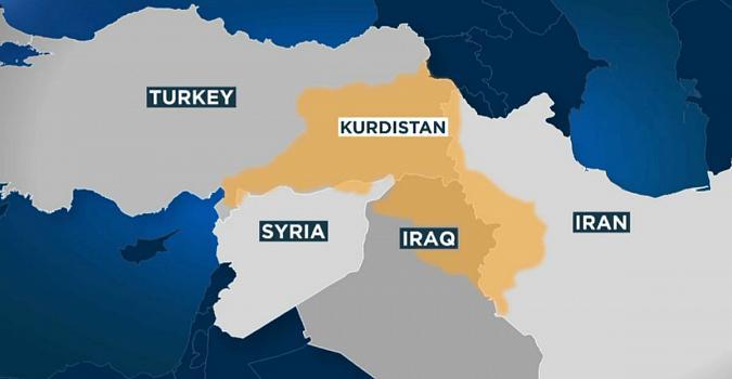 Repartición geográfica del pueblo kurdo