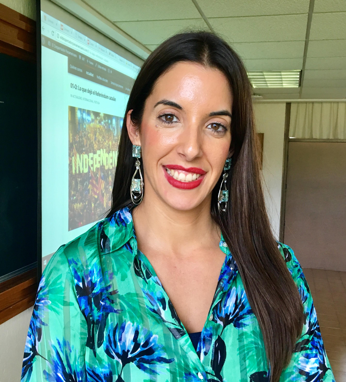 La dra. Elba Díaz comparte su opinión sobre la relación Cataluña - España.