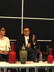 Ing. Mario Alberto Carrasco durante su intervención.