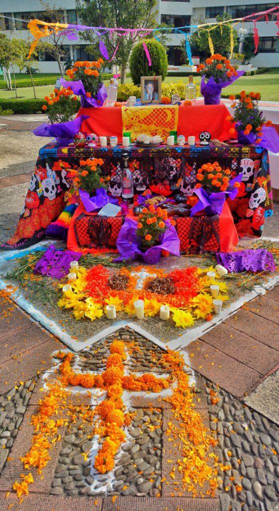 Altar Octavio Paz. Créditos: Fabiola Nava.