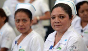 Enfermería en México. Crédito: Presidencia de la República (flickr).