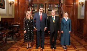 Maduro y AMLO
