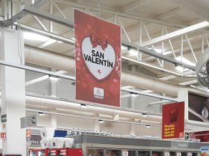 Publicidad para el Día de San Valentín