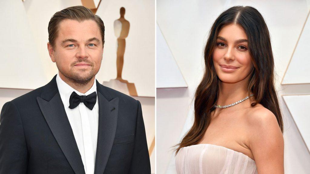 La pareja Leonardo DiCaprio y Camila Morrone.