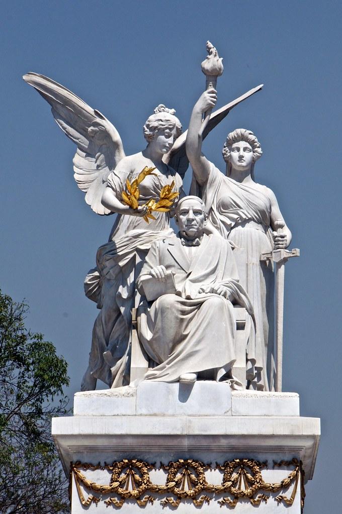 Benito Juárez, monumento en la CDMX