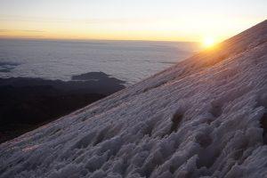 La hora más fría es después del amanecer.