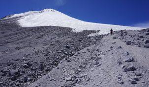 El Pico de Orizaba está a 5670 metros sobre el nivel del mar.