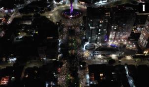 Marcha contra los feminicidios en Guadalajara