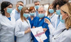 Médicos y coronavirus