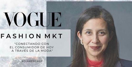 Karla Martinez de Salas inauguró la serie de conferencias por el día Merca Up organizado por la carrera de Mercadotecnia de la UP México.