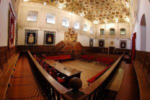 Con el cambio de fecha, se conservará la misma programación del evento. / Paraninfo de la U. de Alcalá de Henares