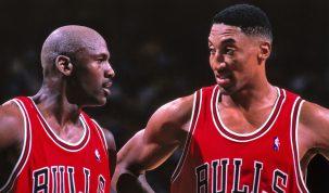 Michael Jordan y Scottie