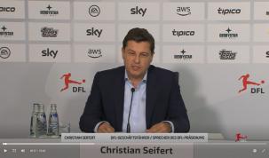 Christian Seifert, director de la DFL