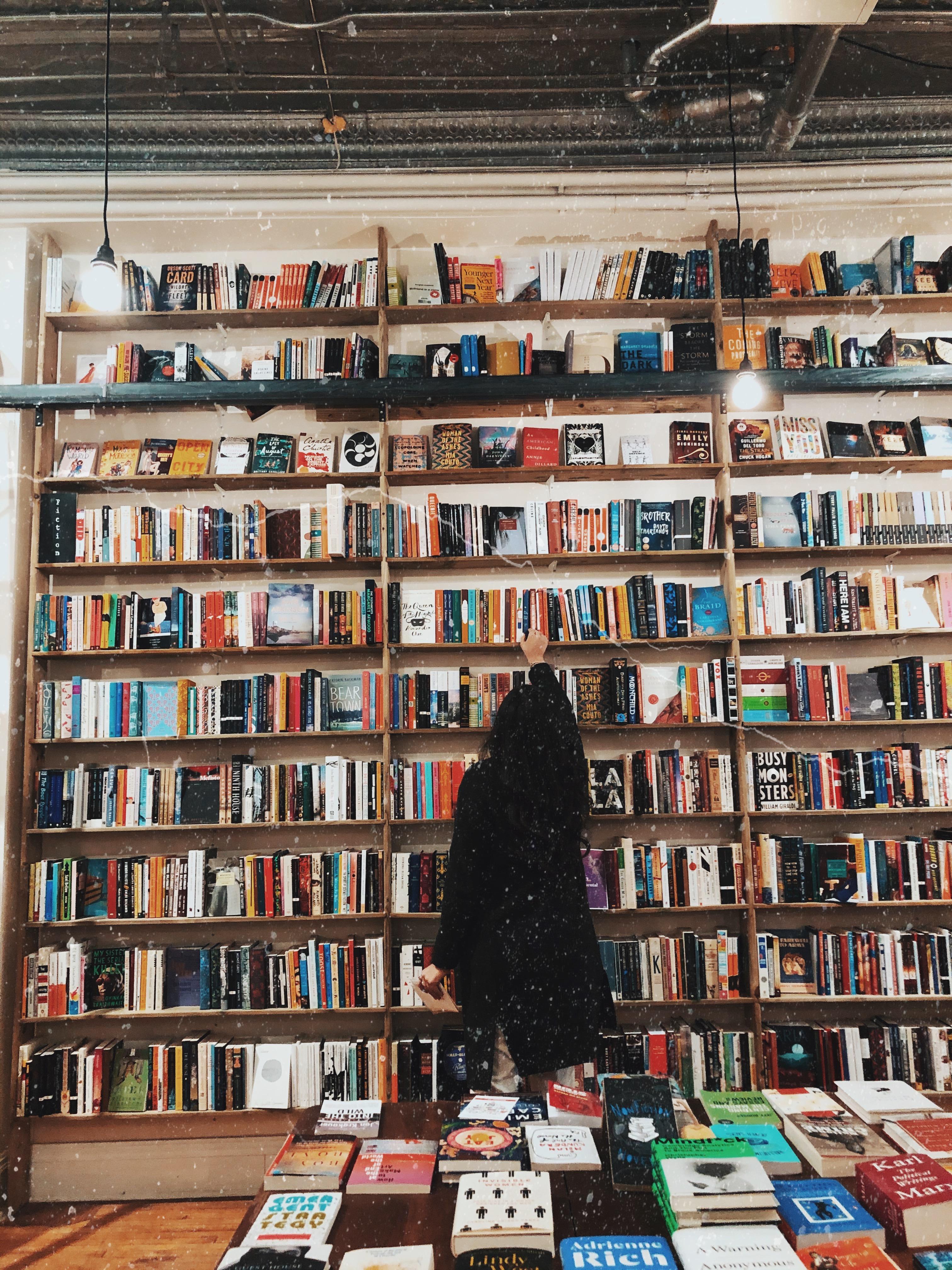 Escogiendo libros