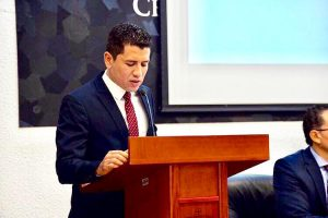 El químico Emmanuel colaboró en el programa Radar Jalisco, una iniciativa del gobierno estatal frente al coronavirus.