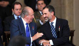 crisis en la Casa Real española por la salida del Rey emérito