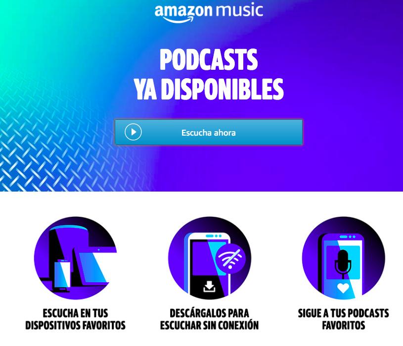 Amazon Music incluyó podcast en su plataforma; desde hace pocos años esta forma de entretenimiento se ha vuelto popular
